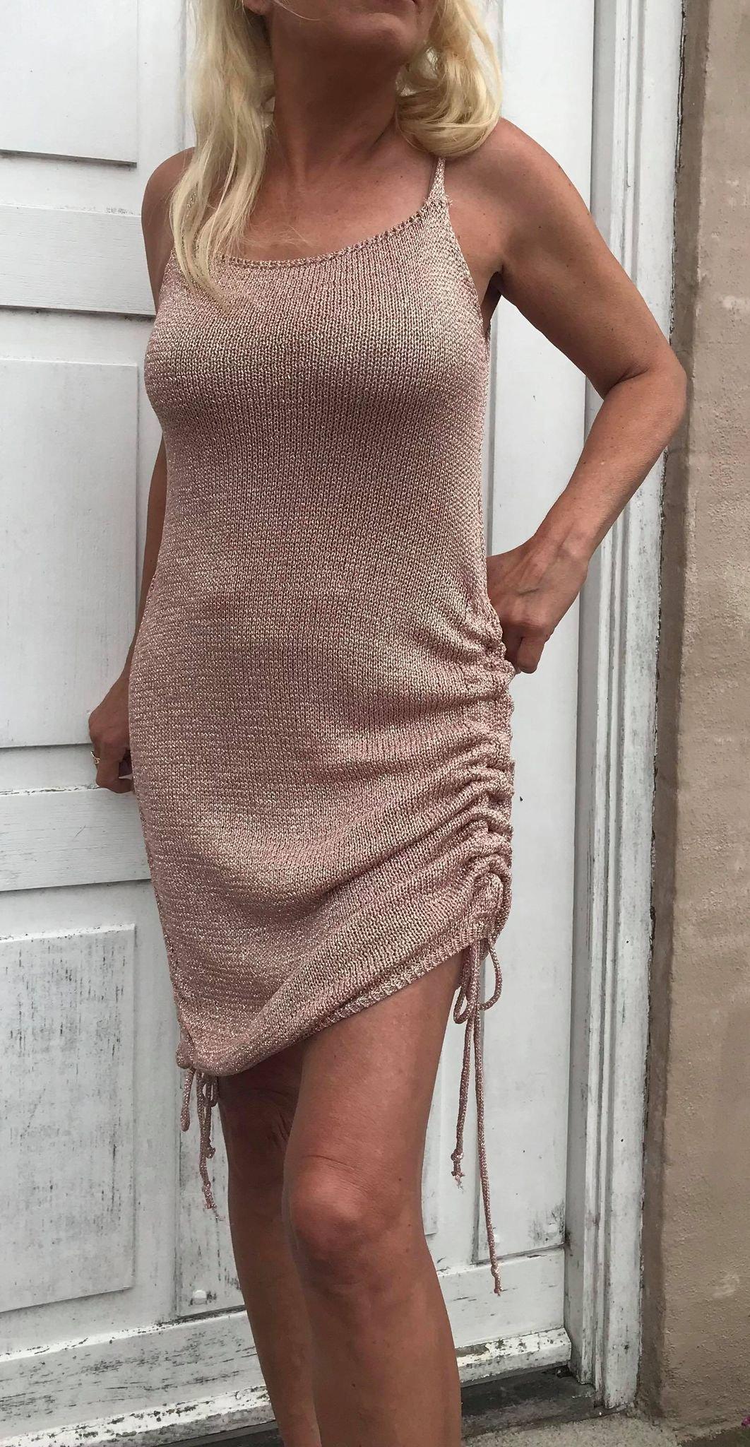 Sumille kjole, Guld & Rosa