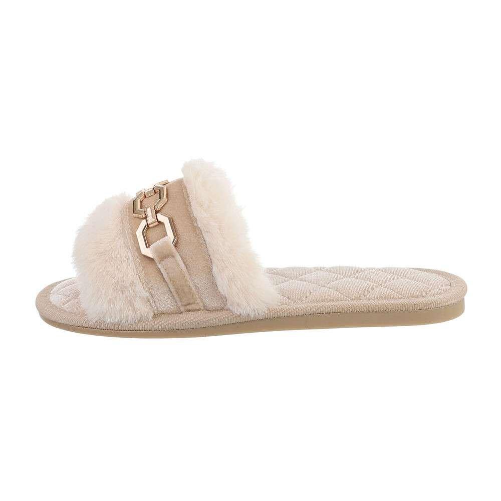 Chain slipper - Beige